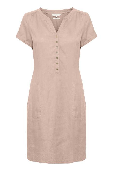 Part Two 100% Linen dress misty rose