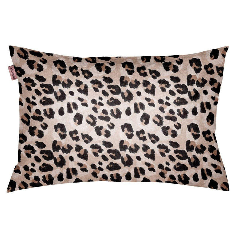 Kitsch Towel Pillow cover - Leopard