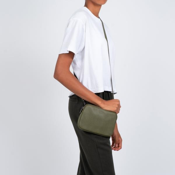 Co-Lab leaf cross body bag