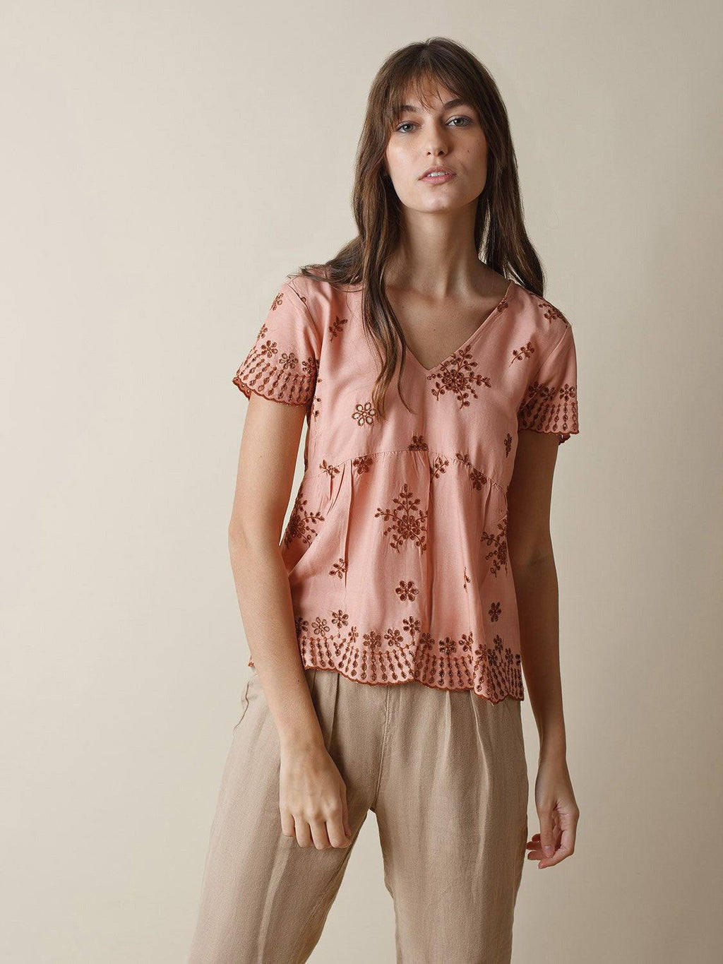 Indi & Cold short sleeve top