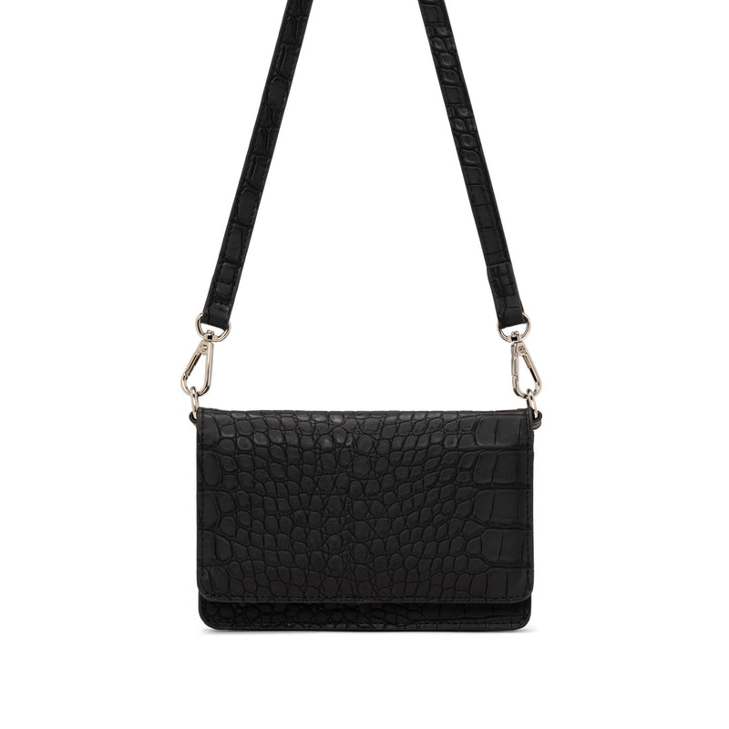 Co-Lab Black Croco Wallet Crossbody