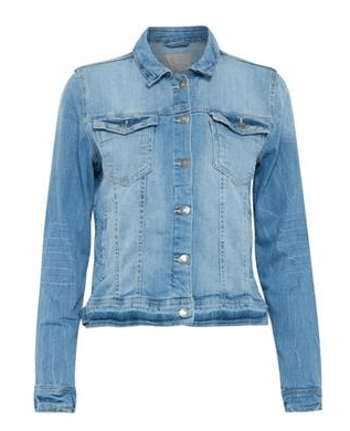 B Young medium blue jean jacket