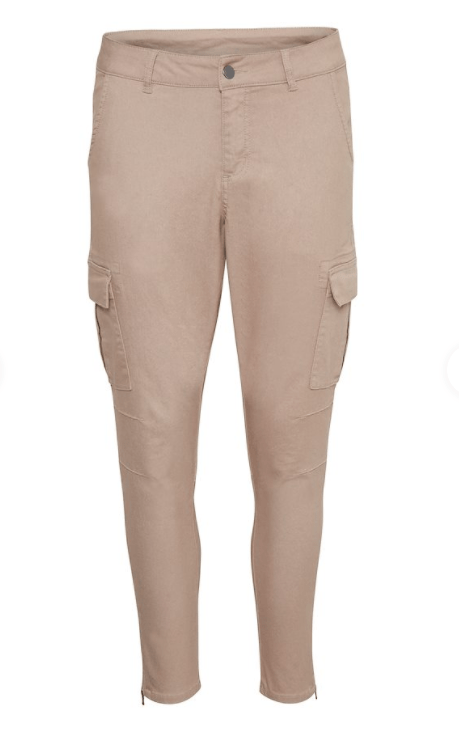 Kaffe cobblestone cropped pants
