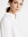 Part Two Bright White Pure Linen Shirt