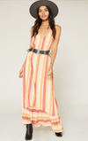 Sage The Label multi striped dress