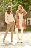 Cream desert multi cozy sweater cardigan