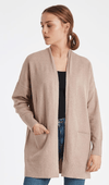 Ichi natural knitted cardigan