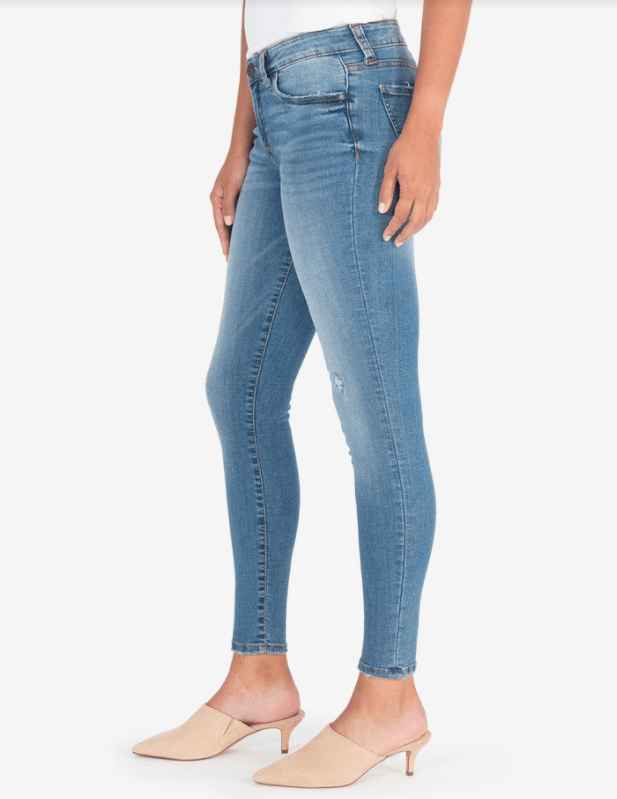 Kut from the Kloth Connie slim fit ankle skinny / consciously wash
