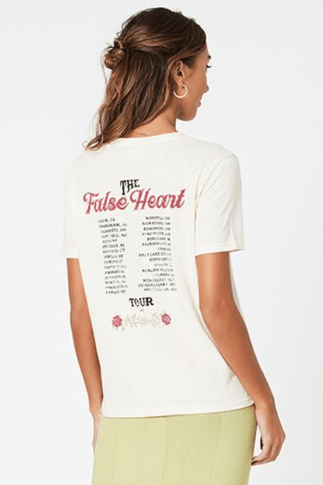 Mink Pink False Heart Tour Tee