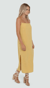 Lost in Lunar millie dress / mustard