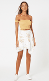 Mink Pink Floral Beauty mini skirt