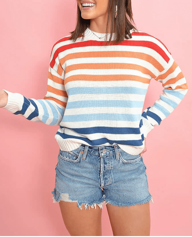 Mink Pink striped sweater