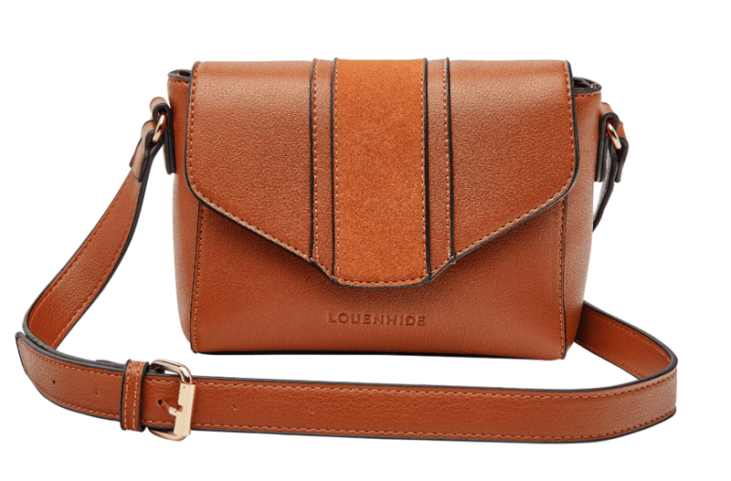 Louenhide Spicer cross body bag / tan