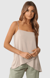 Madison the Label cami / stone