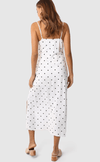 Madison the Label melody dress white spot