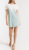 Z supply ombre dipped dye dress