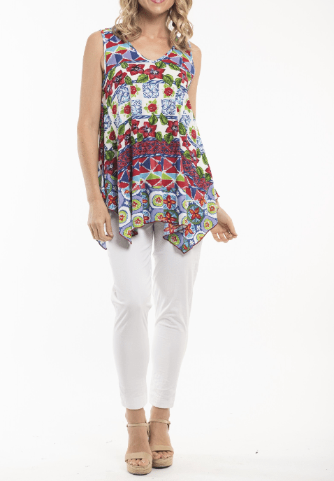 Orientique print tank