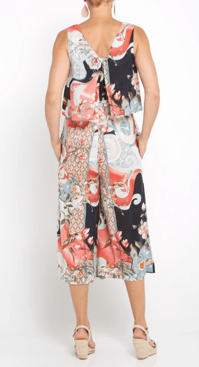 Orientique blooming garden jumpsuit
