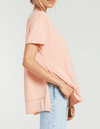Z SUPPLY Pali tunic tee - Coral Almond