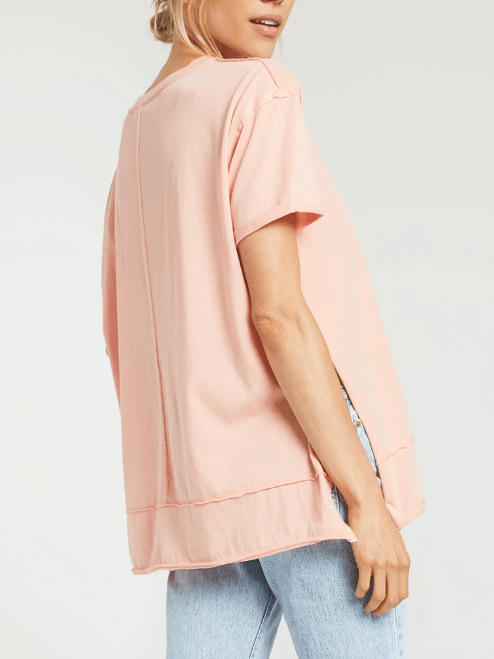ZSUPPLY Pali tunic tee - Coral Almond