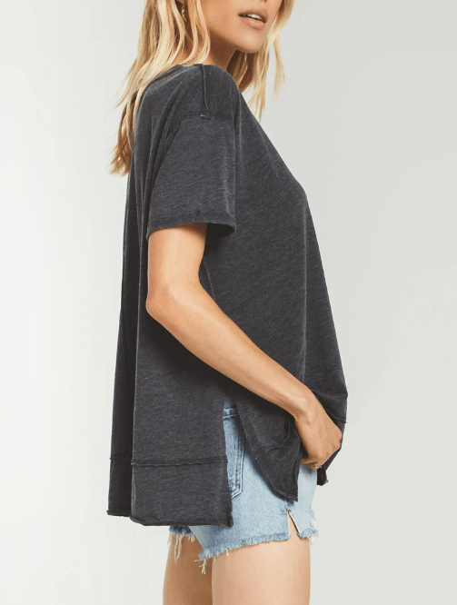 ZSUPPLY Pali tunic tee - BLACK