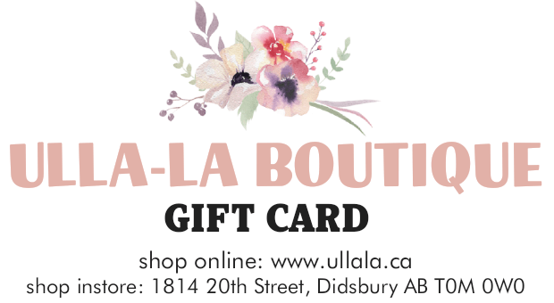 Ulla-La Boutique Gift Card