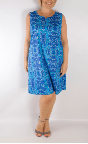 Orientique 2 in 1 reversible dress