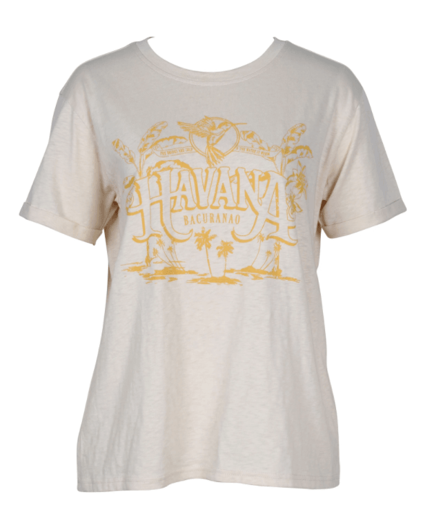 Mink Pink Cuban holiday tee