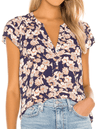 Sanctuary Tiffany Shell Top Stencil Floral