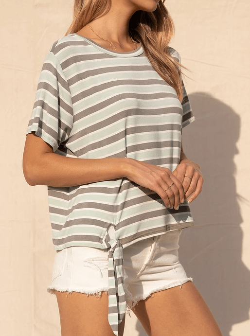 Sage the Label striped T-shirt