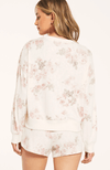 Z Supply Bone Long Sleeve Elle Floral Top