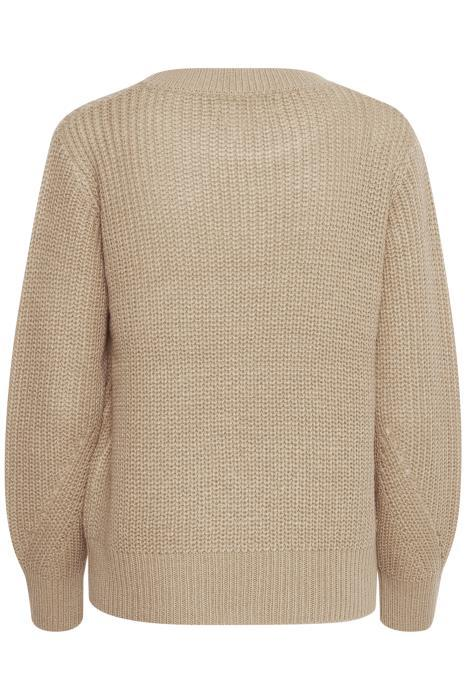 B Young beige knit sweater
