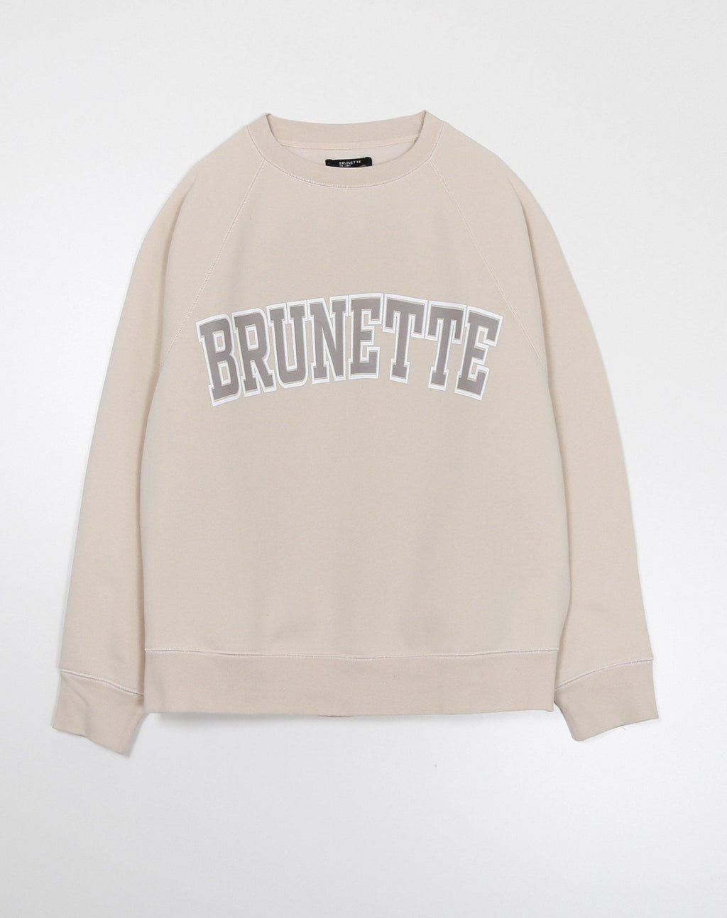"Brunette the Label The ""BRUNETTE"" Not Your Boyfriend's Crew Neck Sweatshirt 