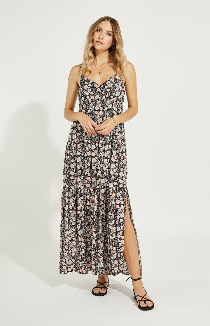 Gentlefawn Monterey Dress- Navy Floral
