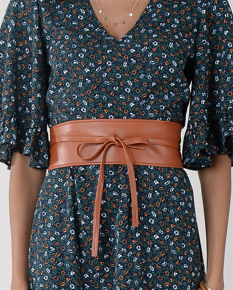 Molly Bracken Large Belt To Tie - camel