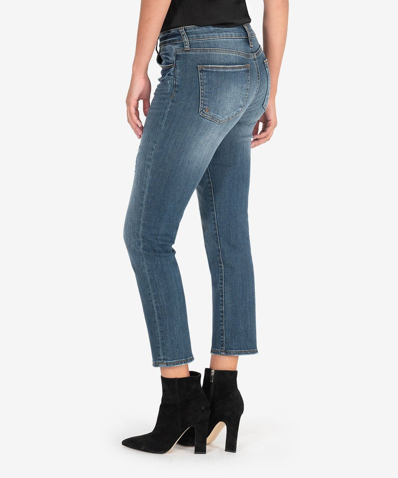 Kut From The Kloth Reese High Rise Straight Jeans