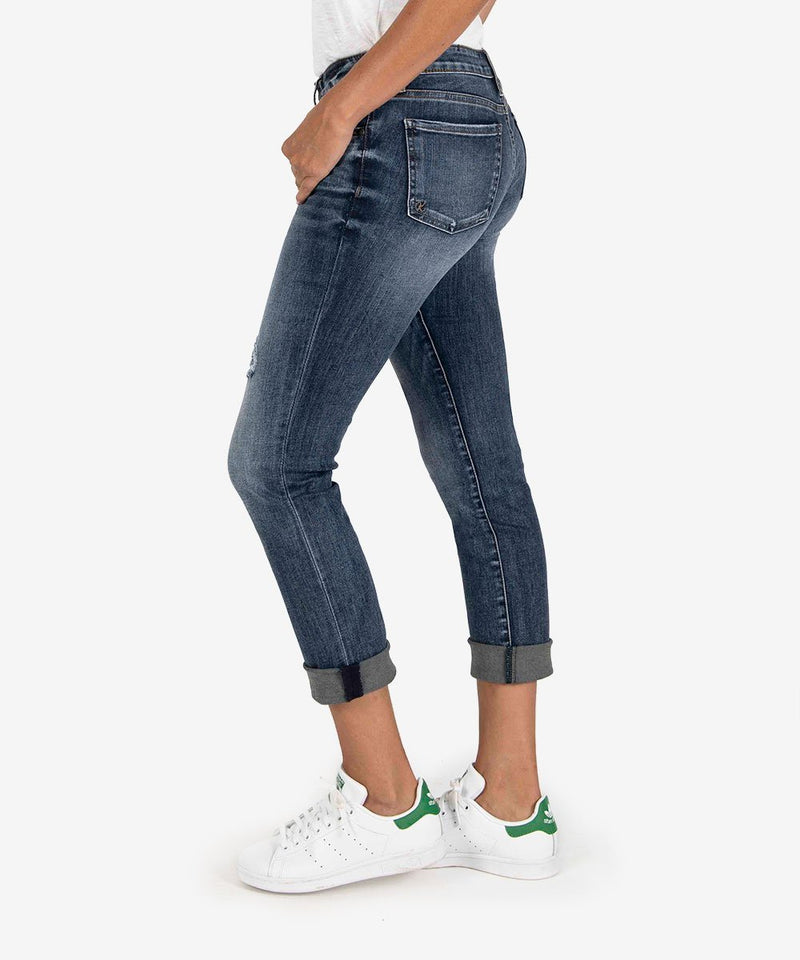Kut From The Kloth Dk stone boyfriend jeans