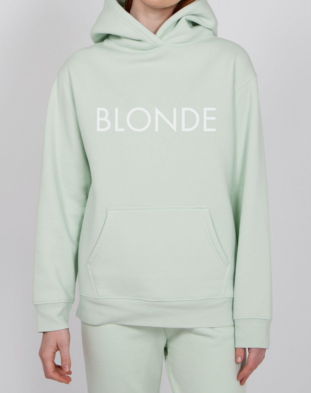 "Brunette the Label ""BLONDE"" Classic Hoodie 