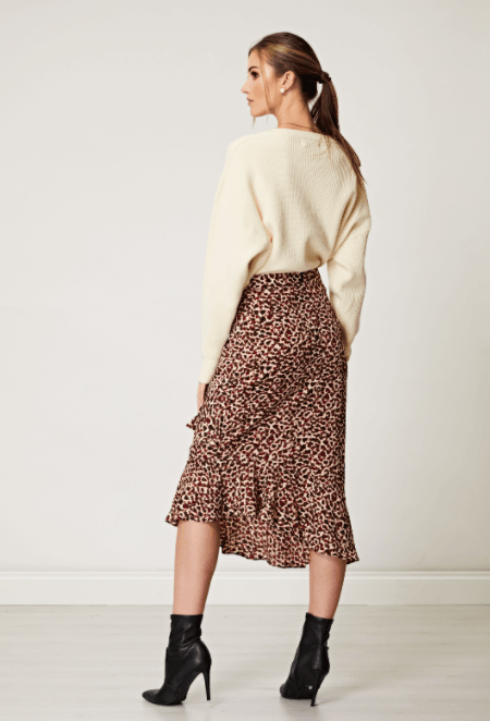 AngelEye Moriah Skirt Multi Brown