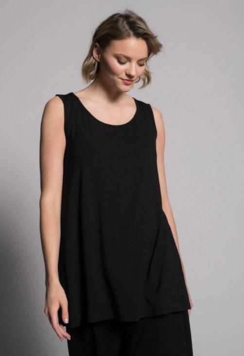 Picadilly A line tank - black