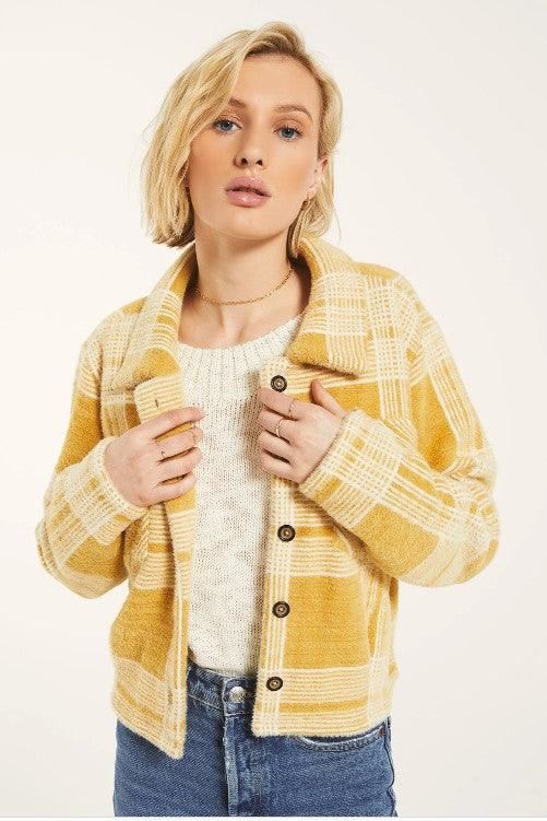 Rag Poets Park Jacket - Wheat