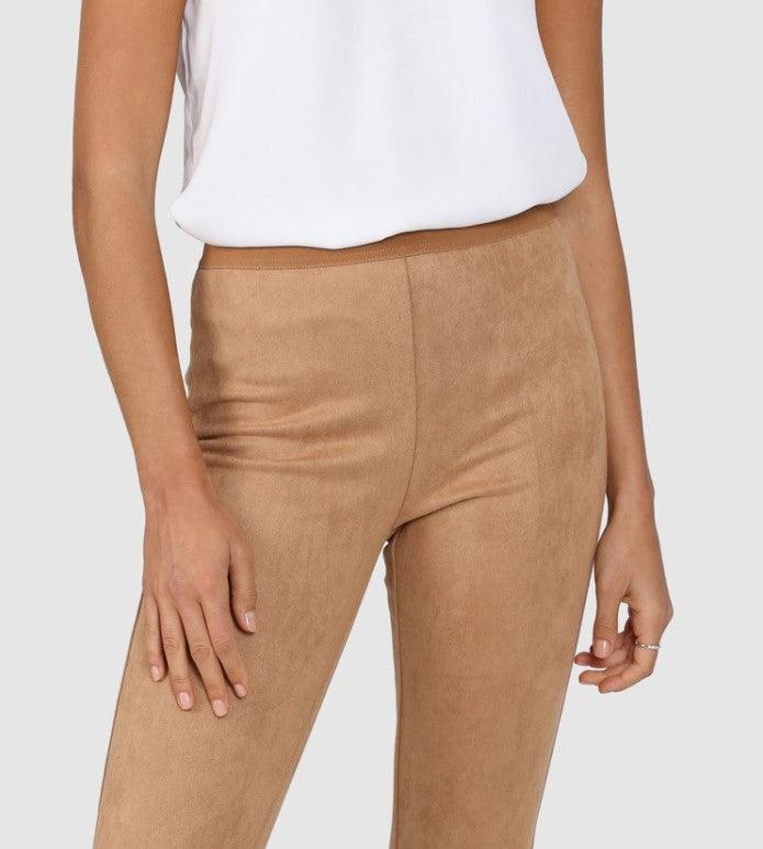 Lost in Lunar Lana Leggings - Camel