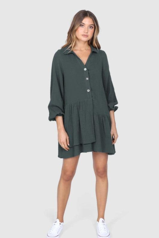 Madison The Label Giselle Dress / Tunic - INK