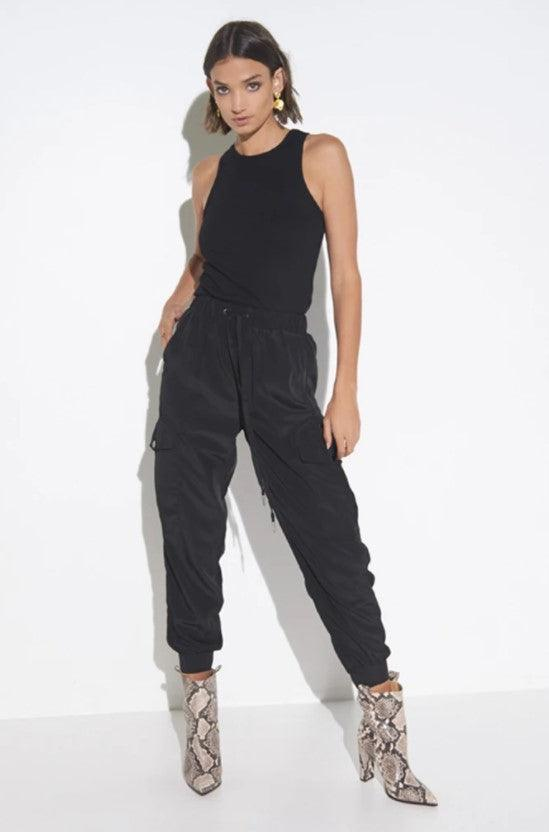 Madison the Label Jessie Joggers - Black