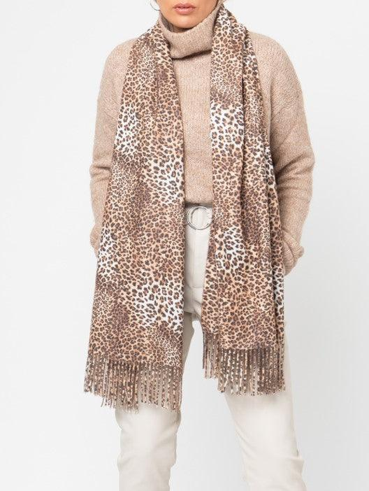 Stacy Scarf – Leopard