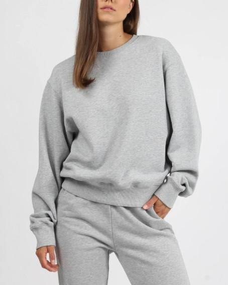 "Brunette the Label ""BEST FRIEND"" Crew Neck Sweatshirt 