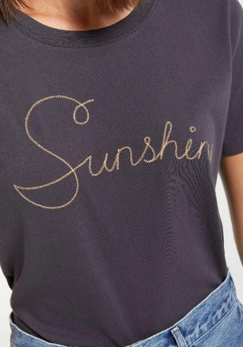 Z Supply Sunshine Tee - washed black