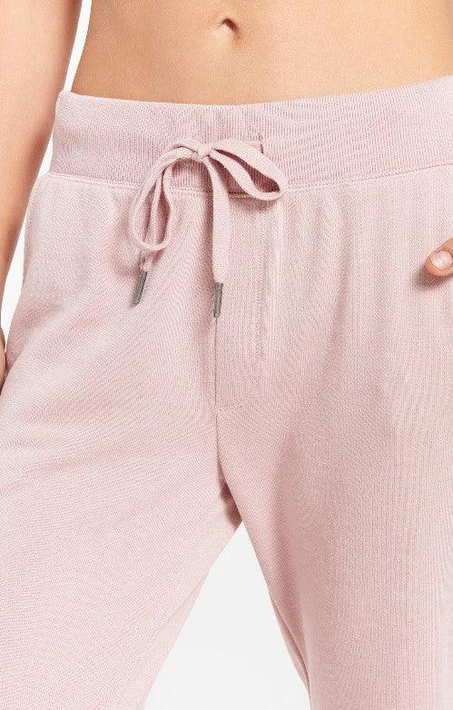 Z Supply Cypress Loop Terry Jogger - Pink Blossom