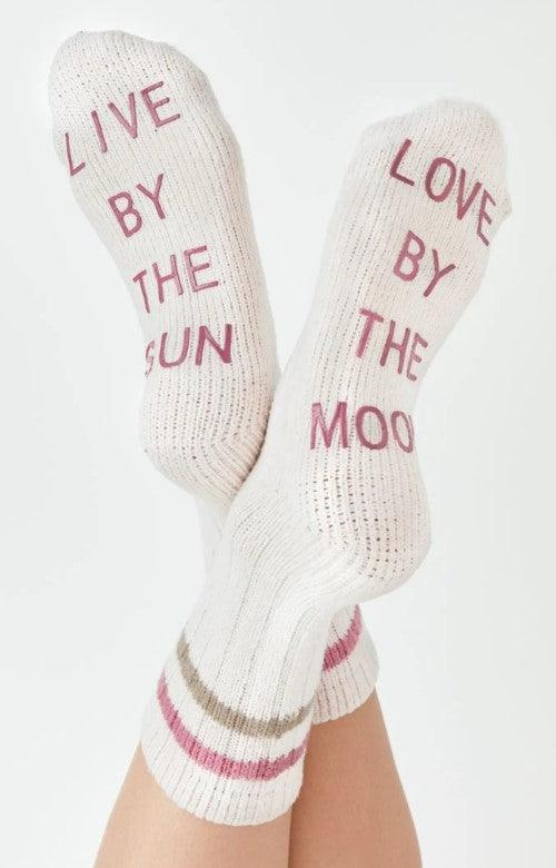 Z Supply Love by rib socks - bone
