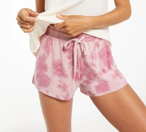 Z Supply Cruise Tie dye Short - Violet Ash